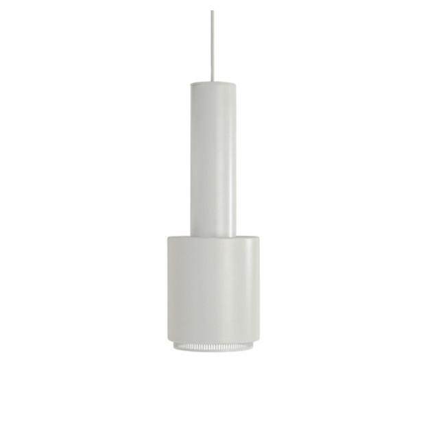 Lámpara de suspensión A110 de Artek color blanco filo blanco