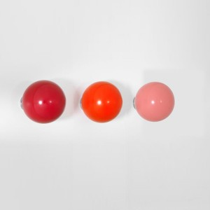 Perchero Coat Dots rojo - Vitra