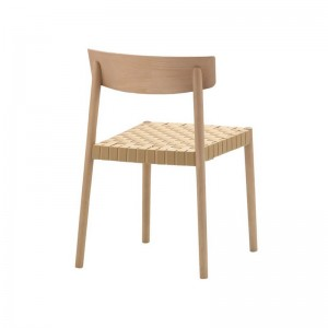 materiales Silla Smart SI-0612 Andreu World madera y cincha