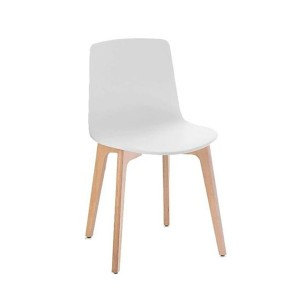 Silla Lottus Wood High abedul - Enea