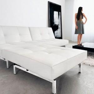 Sofá Cama Splitback patas metálicas Innovation