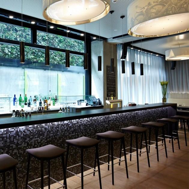 bar con Taburete alto Smile BQ-0329 Andreu World