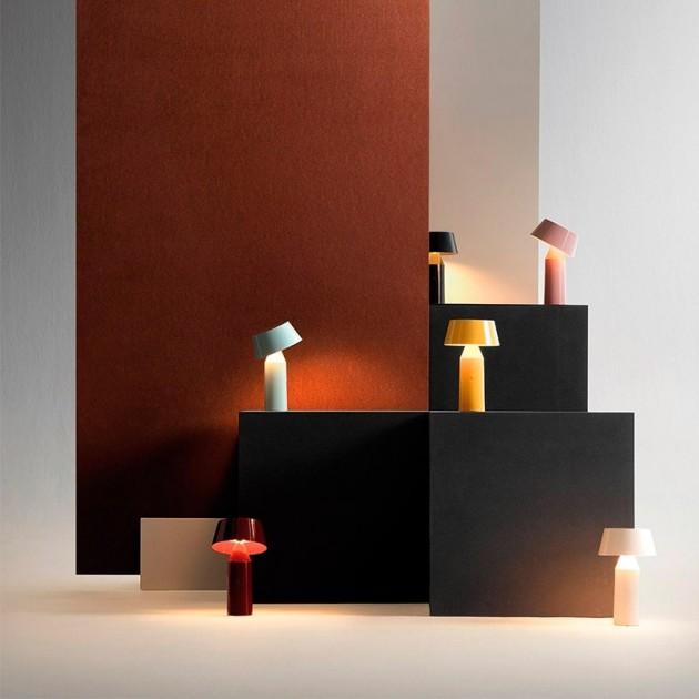 ambiente colección lámparas Bicoca Marset