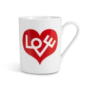 Coffe Mug Love Heart Red - Vitra