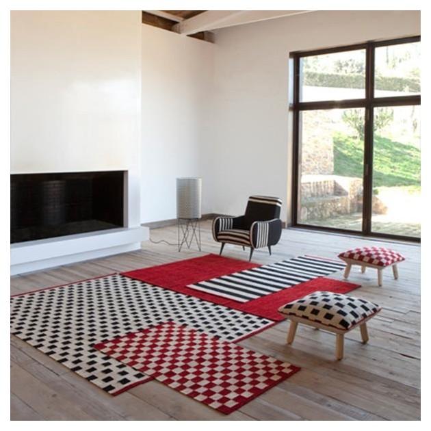 ambiente salón Alfombras Mélange Pattern Nanimarquina
