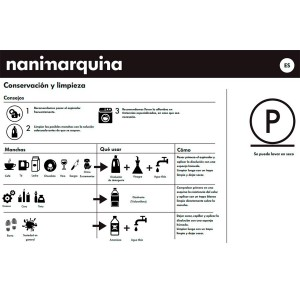 cuidado Alfombra Mélange Pattern 4 Nanimarquina