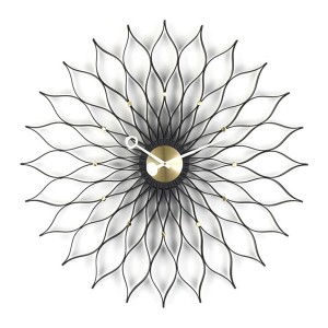 Reloj Sunflower Fresno negro - Vitra