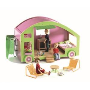 Casa de muñecas Caravana - Djeco