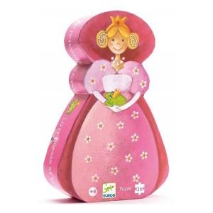 Puzzle La Princesa y la Rana - Djeco