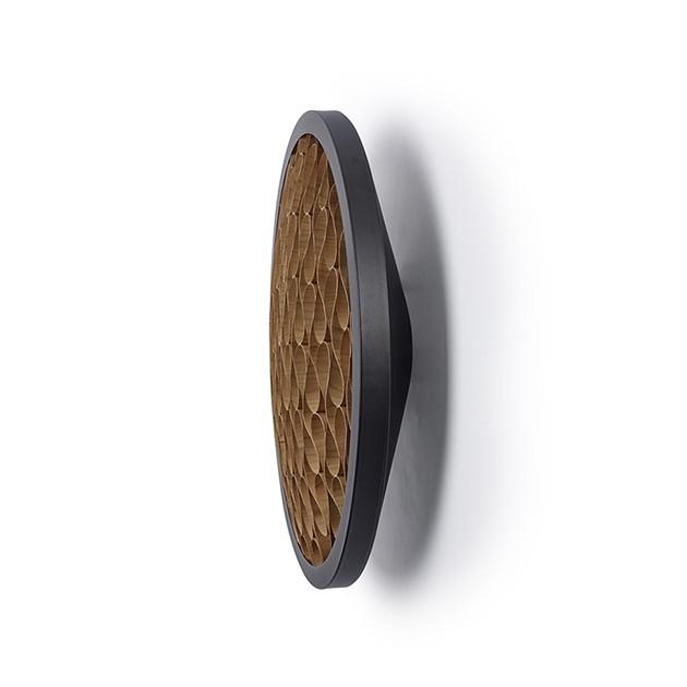 perfil Aplique cervantes A Luzifer negro interior chocolate