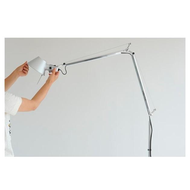 ambiente lámpara de pie Tolomeo Artemide