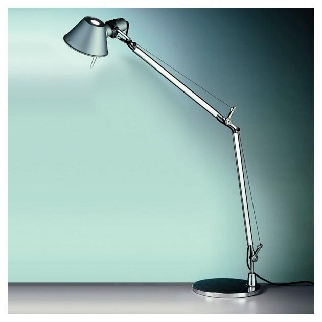 ambiente lámpara de sobremesa Tolomeo aluminio Artemide.