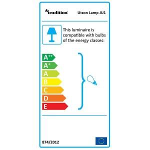 bombillas para Lampara de suspensión Utzon JU1 &Tradition