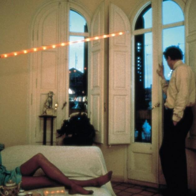 Lámpara La Colilla Santa & Cole habitación