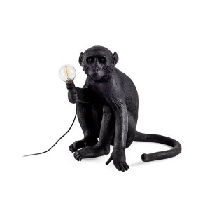 Monkey Lamp Black Edition Sobremesa - Seletti