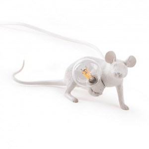 Mouse Lamp Lie Down - Seletti