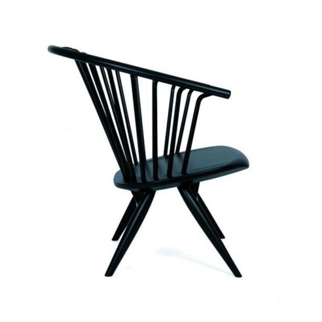 Silla Crinolette color negro de Artek