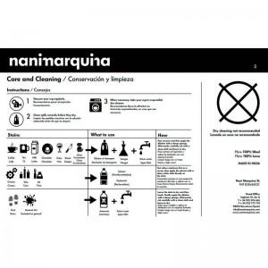 cuidados Alfombra Hayon x Nani Nanimarquina