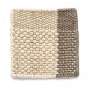 muestra tejido Perla alfombra Tres Nanimarquina