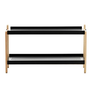 comprar Zapatero Sko Rack en color negro y roble de Normann copenhagen. disponible en Moisés showroom