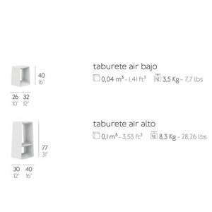 Taburete Air bajo Diabla