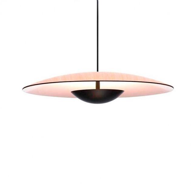 pantalla Lámpara de pie Ginger XL 42 Marset roble