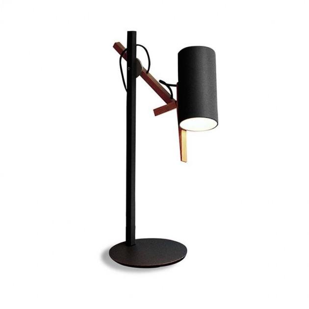 Lámpara de sobremesa Marset Scantling S negro