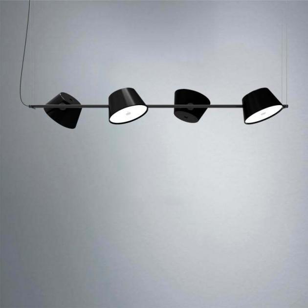 Lámpara de suspensión TamTam 4 Marset negra