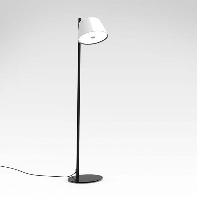 Lámpara de pie TamTam P Marset blanca