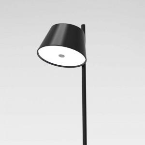 detalle foco negro Lámpara de pie TamTam P Marset