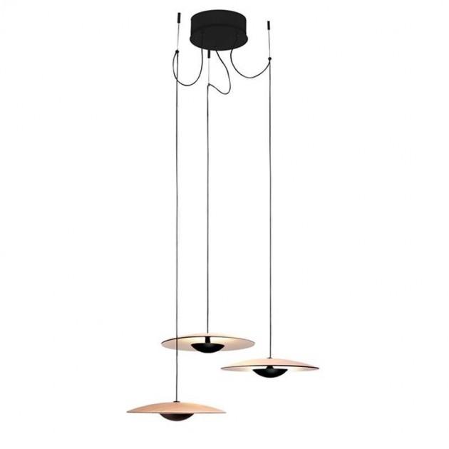 lámpara suspensión Ginger 20 x 3 Marset roble