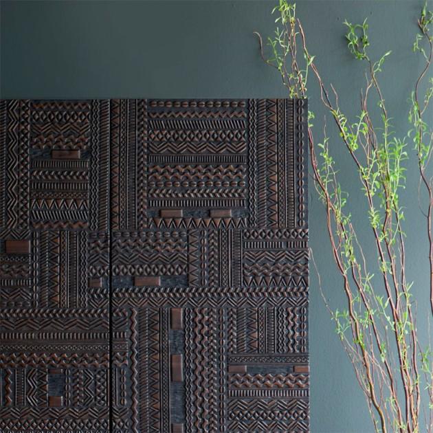 detalle material Tabwa 4 puertas Ethnicraft