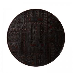 Mesa de centro Tabwa Round Ancestors by Ethnicraft 3