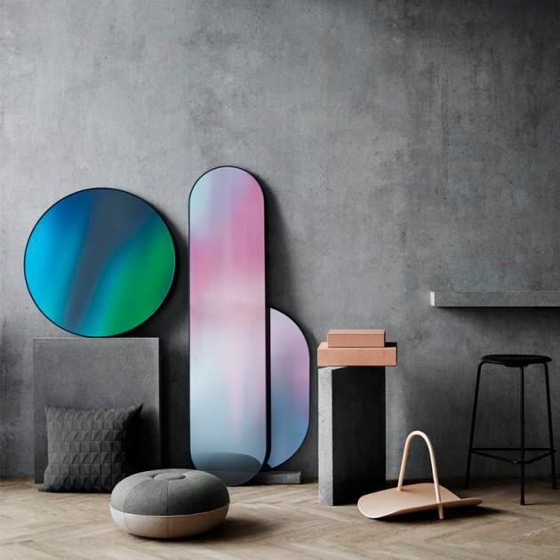 Espejo Long diseñado por Studio Rosso para Fritz Hansen