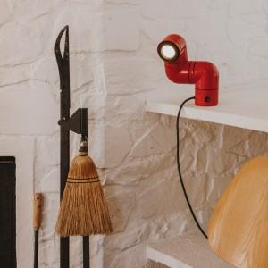 Lámpara Tatu color rojo - Santa&Cole