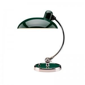 Lámpara de mesa Kaiser Luxus color verde oscuro de Fritz Hansen