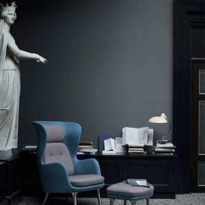 Ambiente con lámpara Kaiser Luxus de Fritz Hansen