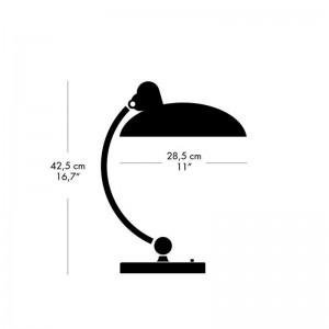 Medidas Lámpara de mesa Kaiser Luxus de Fritz Hansen