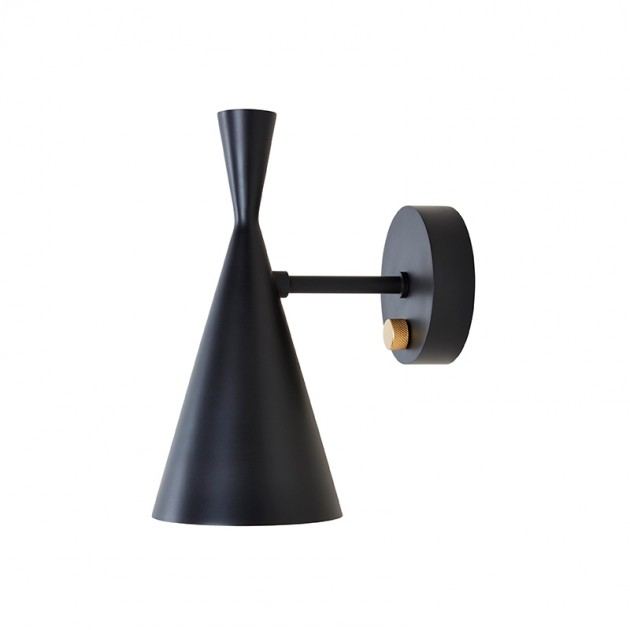Lámpara Beat Wall Black Tom Dixon