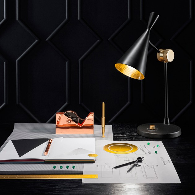 Lámpara Beat Table Tom Dixon