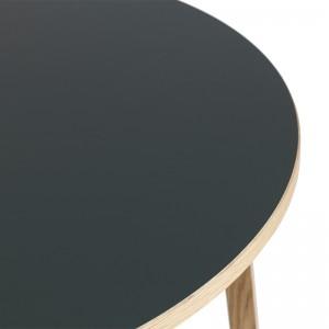 Mesa Slice Linoleum round 120 de Normann Copenhagen en Moises Showroom