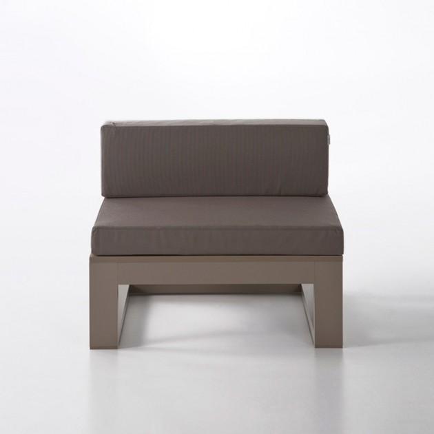 Sofá modular 3 Na Xemena bronze Gandia Blasco