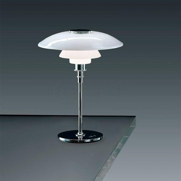 Lámpara PH 4½-3½ Glass Table Louis Poulsen