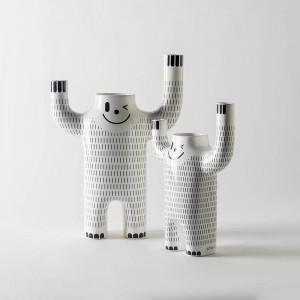 Jarrones Happy Yeti de BD Barcelona en Moises Showroom