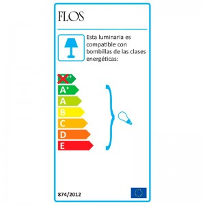 Lámpara IC T1 Low Flos etiqueta energética