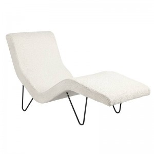 GMG Chaise longue de Gubi en Moises Showroom