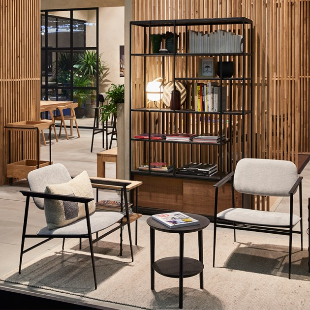 Silla DC Lounge de Ethnicraft en Moises Showroom