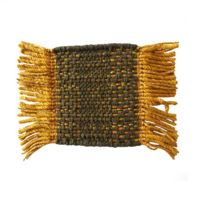 Alfombra Tes Texture Gold Nanimarquina muestra