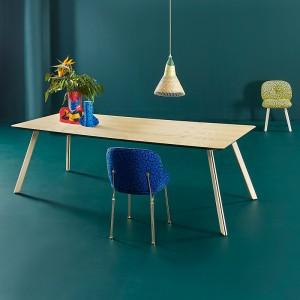 Mesa de comedor Tortuga rectangular de Sancal en Moises Showroom
