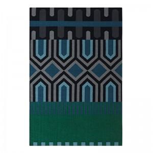 Kilim Ndebele Green - Gan Rugs